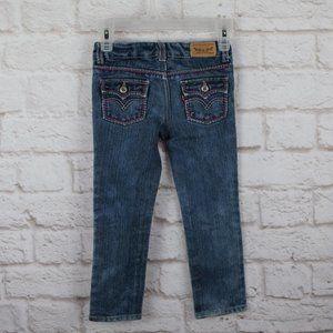 Levi's Toddler Skinny Jeans Contrast Stitch Detail